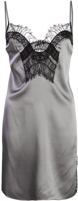 Kiki de Montparnasse lace-detail mini dress