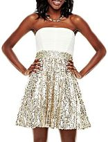 JCPenney Sequin Skirt Party Dress