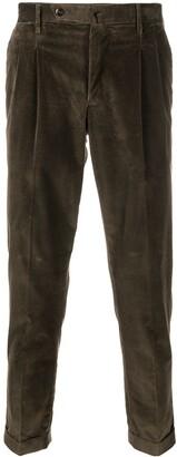 Pt01 Pleat-Detail Corduroy Trousers