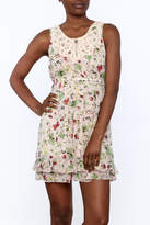 Hazel Butterfly Print Dress