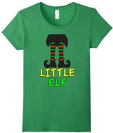 Men's Family Christmas Shirts Little Elf Family Matching Set Medium
