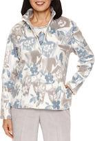 Alfred Dunner Northern Lights Fleece Jacket