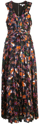 Derek Lam 10 Crosby Floral Print Maxi Dress