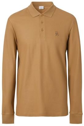 Burberry Cotton Tb Monogram Polo Shirt