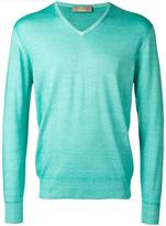 Cruciani V-neck jumper - men - Wool - 48