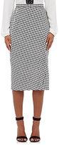 Altuzarra Women's Vic Houndstooth Crepe Skirt