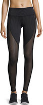 Alo Yoga Motion Mesh-Panel Sport Leggings