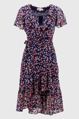 Michael Kors fancy dress. Crossed