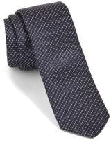 BOSS Stripe Silk Skinny Tie