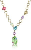 A-Z Collection Multicolor Drop Necklace