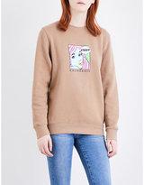 Stussy Cali Girl jersey sweatshirt