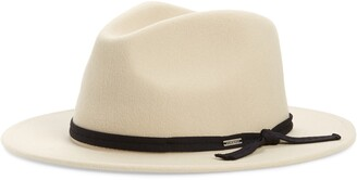 Brixton Messer Casual Felted Wool Fedora