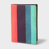 Paul Smith Men's Leather 'Artist Stripe' Passport Cover