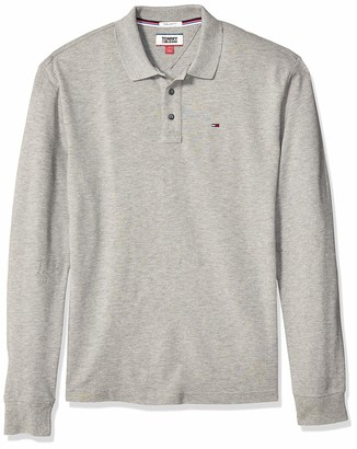 Tommy Hilfiger Tommy Jeans Men's Long Sleeve Polo Shirts