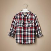 River Island Mini boys red check shirt