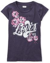 Levi's Girls 7-16) Crew Neck Logo Tee