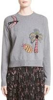 Valentino Women's Jungle Cashmere Sweater