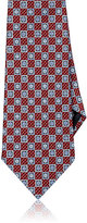 Ermenegildo Zegna Men's Floral Silk Foulard Necktie-RED