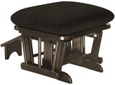 Shermag Home Indoor Wooden Furniture Ottoman With Nursing Foot Rest Chocolate