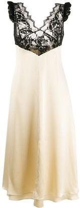 Magda Butrym Leiria slip dress