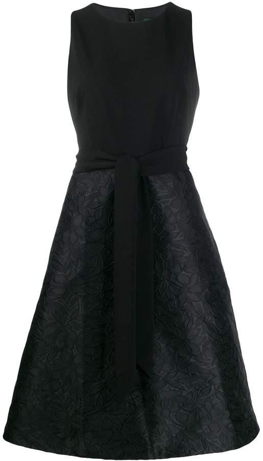 Lauren Ralph Lauren belted midi dress
