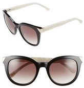 Ted Baker 52mm Metal Accent Sunglasses