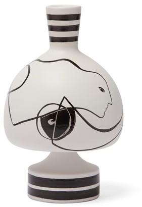 Nick Vinson - X Roksanda X Linck Ceramics Vase 51 - White Black