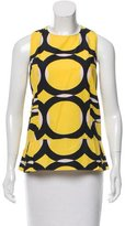 Marni Printed Sleeveless Top