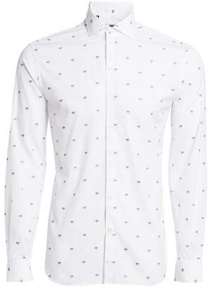Saks Fifth Avenue MODERN Cotton Sketched Heart Shirt