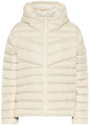 Nike Hooded down jacket