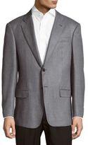 Armani Collezioni Textured Wool Sportcoat