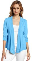 Mod-o-doc Women's Supreme Jersey Mid-Sleeve Cardigan Sweater