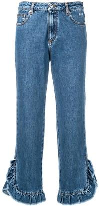 MSGM Cropped Leg Jeans