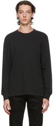 Rag & Bone Black Venice Logo Long Sleeve T-Shirt