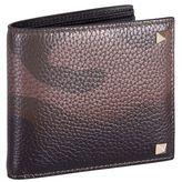 Valentino Camouflage Billfold Wallet