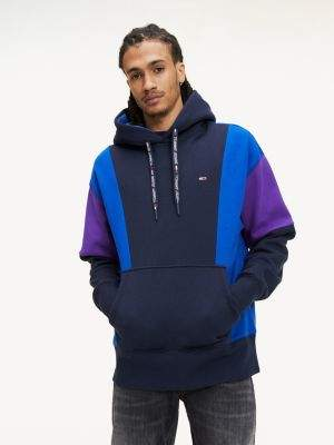 Tommy Hilfiger Colour-Blocked Organic Cotton Hoody