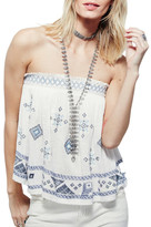 Free People &You Got It Bad& Strapless Shirt