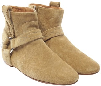 Isabel Marant Gaucho Brown Suede Ankle boots
