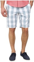 Original Penguin Plaid Cotton Poplin Slim Fit Shorts