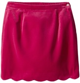 Oscar de la Renta Childrenswear Watercolor Scallop Skirt (Toddler/Little Kids/Big Kids)