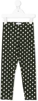 MonnaLisa polka dot leggings