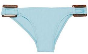 Melissa Odabash Buckle-embellished Low-rise Bikini Briefs