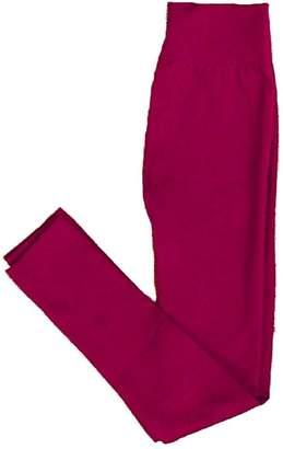 Yahada Leggings Fleece Burgundy