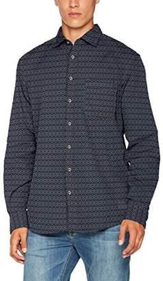 Camel Active Men's Jean Shark 1/1 Casual Shirt,30 (Size: Medium)
