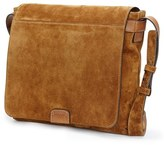 Frye Men's Chris Suede Messenger Bag - Brown