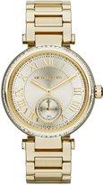 Michael Kors Women's Skylar Gold-Tone Stainless Steel Bracelet Watch 42mm MK5867