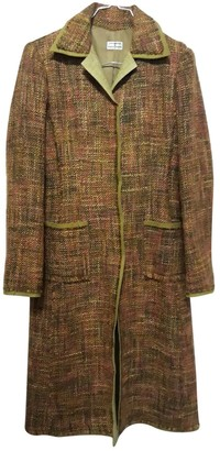 Philosophy di Alberta Ferretti Brown Wool Coats