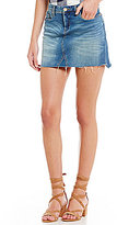 Chelsea & Violet 5-Pocket Denim Mini Skirt