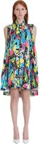 Balenciaga Dress In Multicolor Polyester