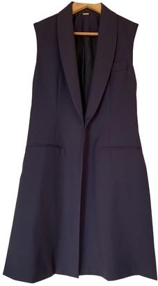 Adam Lippes Navy Wool Jacket for Women